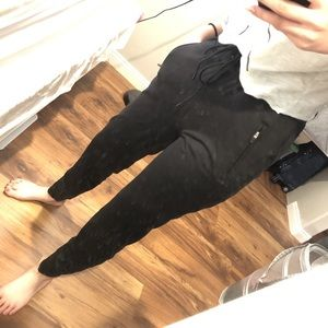 sweatpants / black / Abercrombie & Fitch